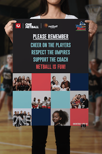 Netball Please Remember Poster