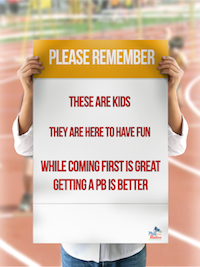 Little Athletics poster