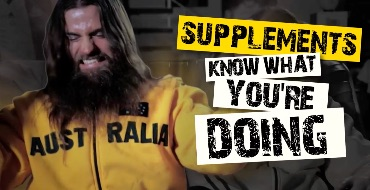 Supplements - Know what's good for you