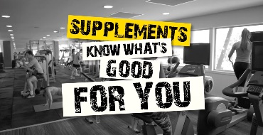 Supplements - Get informed