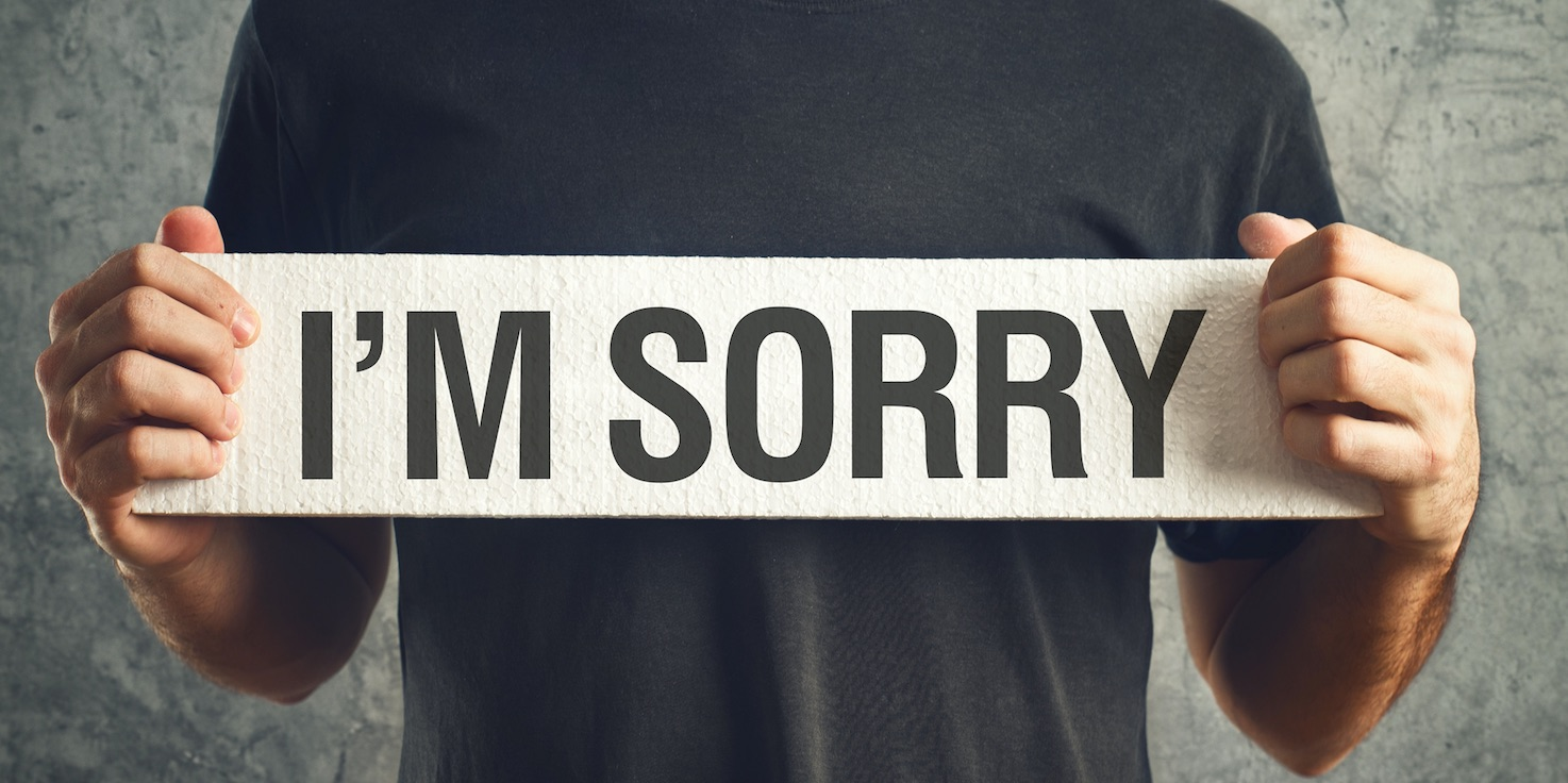 Can an apology lead to change?