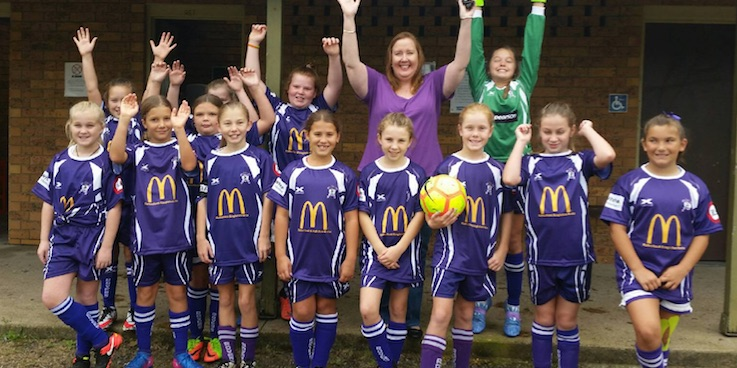 Lochinvar Rovers Football Club - Female only competitions