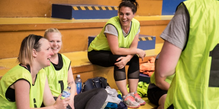Basketball ACT - Mums Who Ball and Baby Ballers program