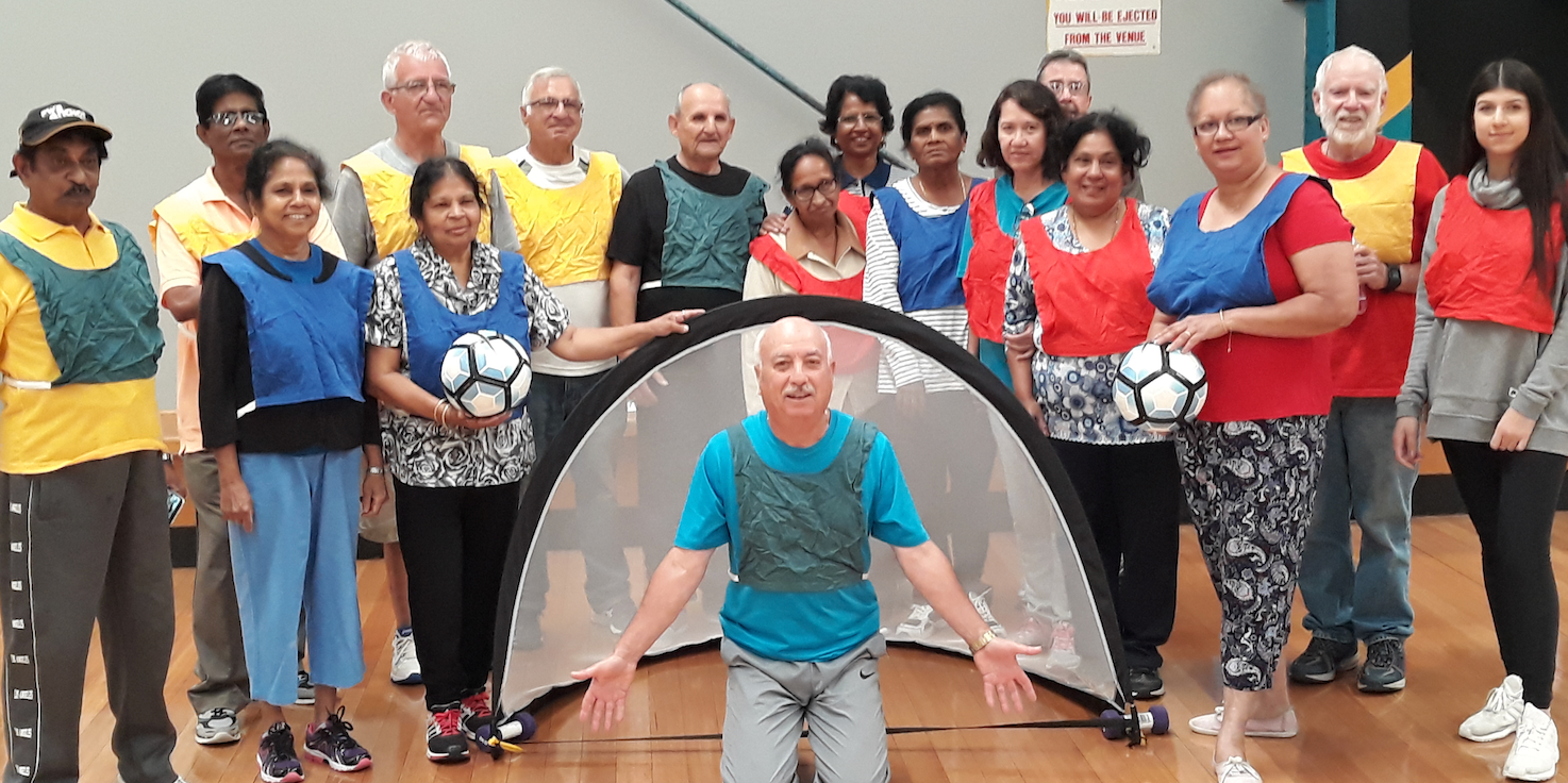 Melbourne City Football Club - City Strikers Walking Football Project