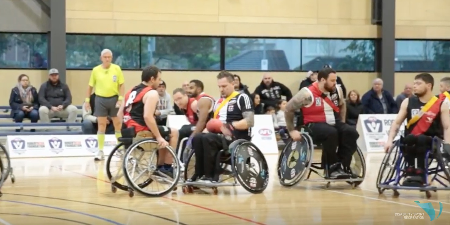 Disability Sport & Recreation and AFL Victoria - AFL Wheelchair Competition