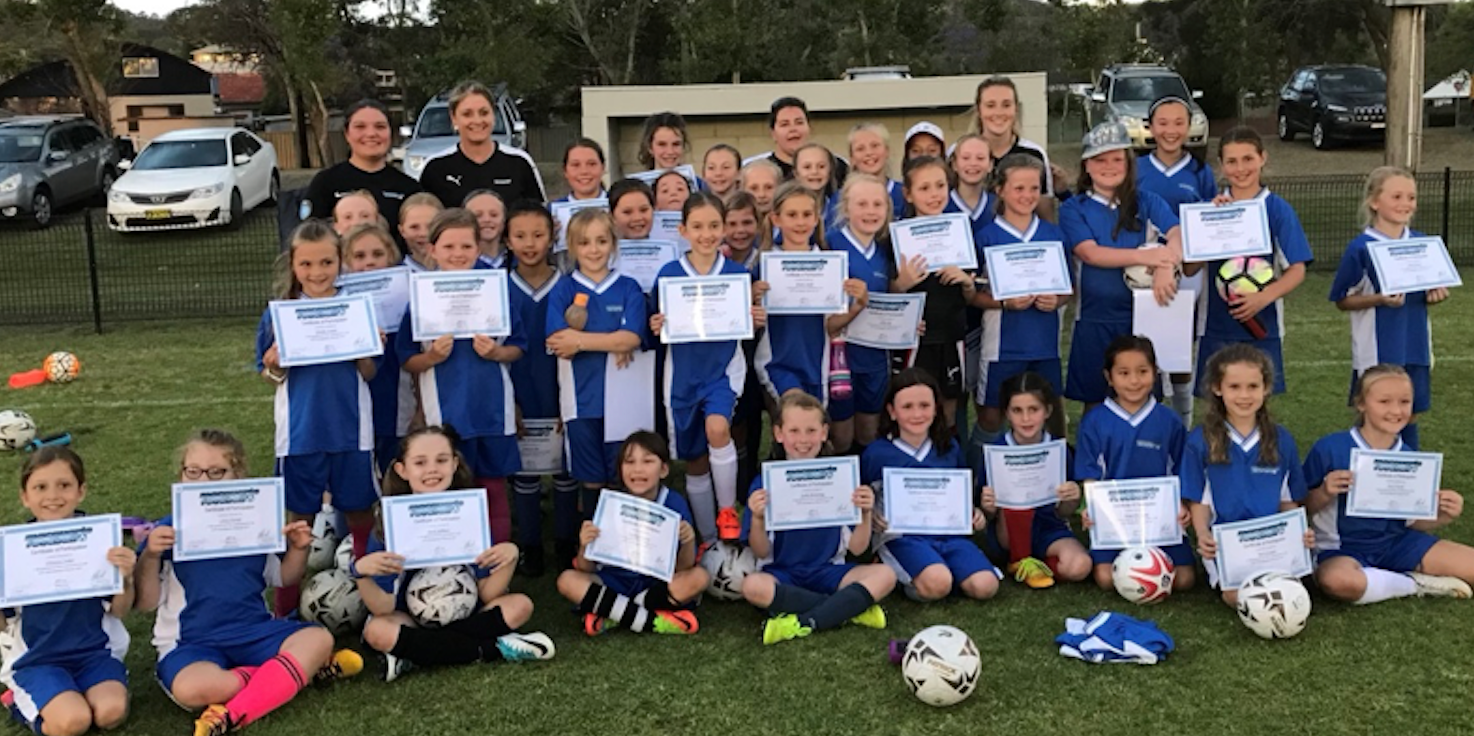 Macquarie Football Association - Girls Football Skills Clinic