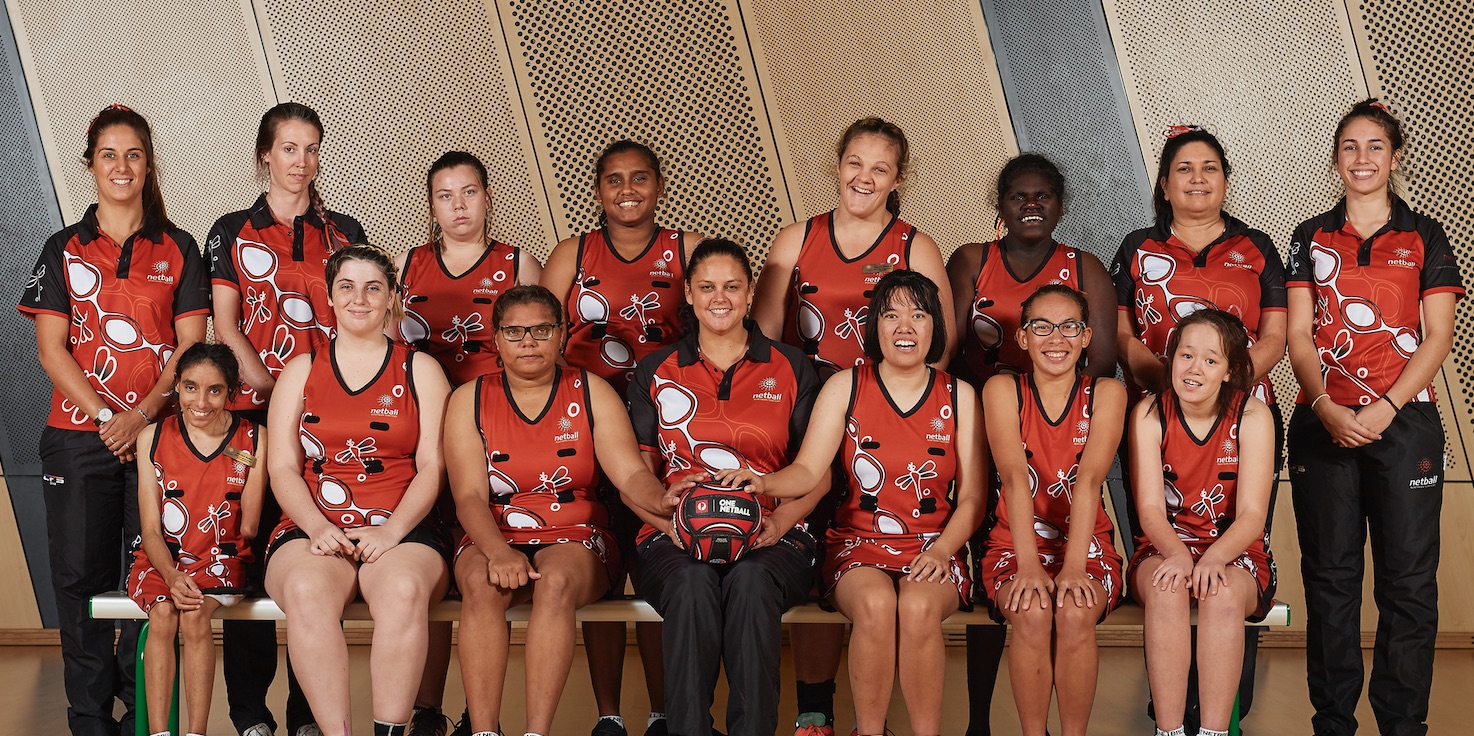 Northern Territory Netball - Dragonflies Netball team for players with intellectual disability