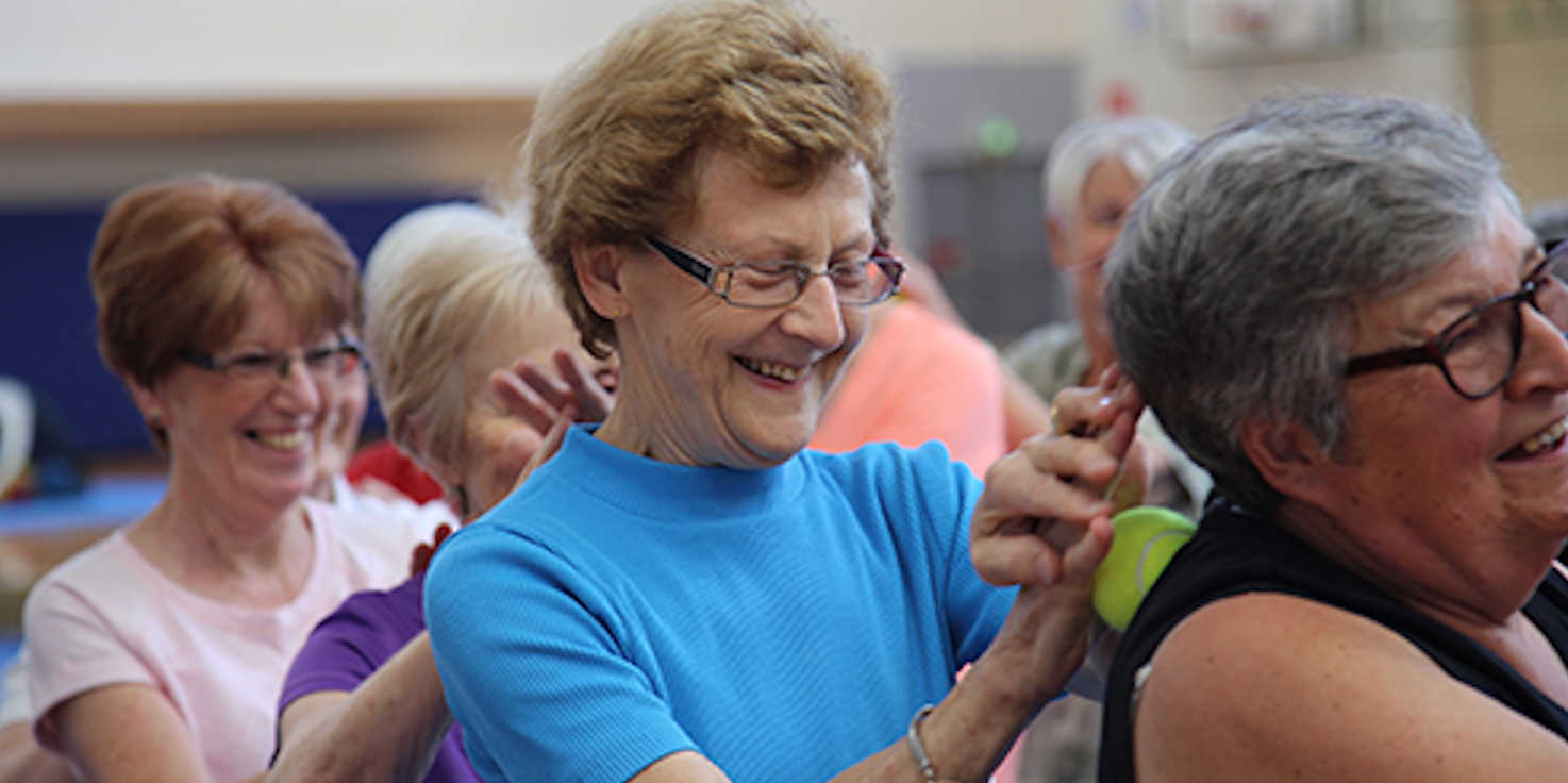 Gymnastics Queensland - Older Adults Program