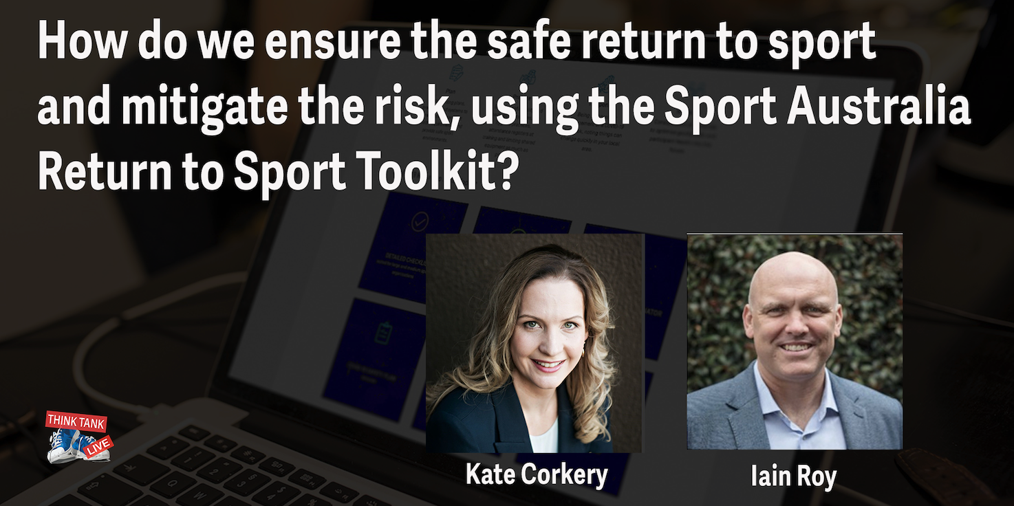 How can we ensure a safe return to sport and mitigate the risk using Sport Australia's Return to Sport Toolkit