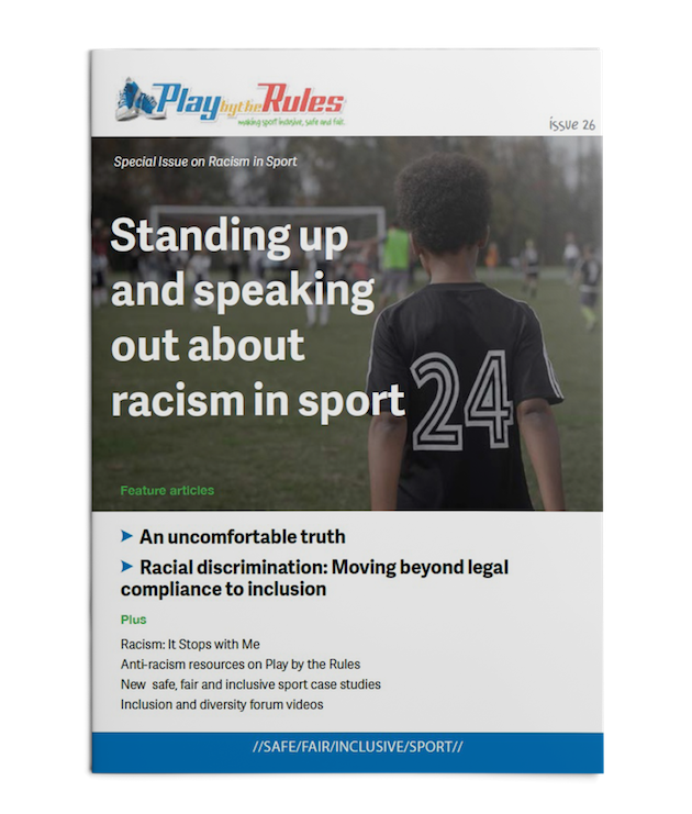 Magazines - Play by the Rules - Making Sport inclusive, safe