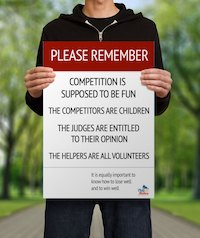 Pony Club Please Remember Poster template