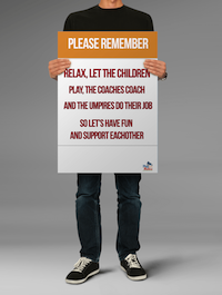 AFL Please Remember Poster template