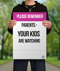 Parents - Your Kids are Watching poster