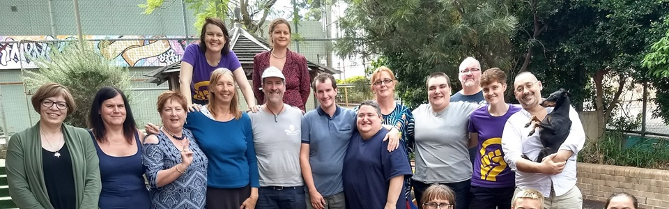 Participants at the second Australian/Aotearoa-NZ intersex community retreat